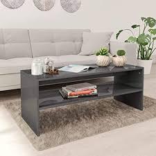 unfadememory couchtisch kaffeetisch wohnzimmertisch spanplatte tisch mit 1 ablageboden skandinavischer stil wohnzimmer beistelltisch inkl