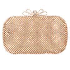 Amazoncom Fawziya Bow Clutch Purse Rhinestone Evening Bags And
