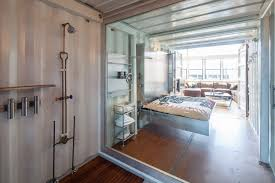 100 Loft Sf Container Shower Metal Bed SF In San Francisco California