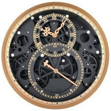 Wood Gear Wall Decor Seven Rustic Gears Metal Clock Art Home