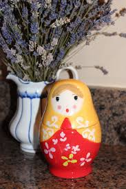 100 Matryoshka Kitchen Russian Doll Measuring Cups Bluebirds And Butterflies