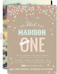 Cheap First Birthday Invitations