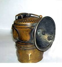 Carbide Miners Lamp Fuel by Antique Dewar Mfg Co Coal Miner U0027s Carbide Lamp Brooklyn Ny Usa