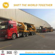 China Rhd 20FT Container Sidelifter Container Side Load Crane Truck ...