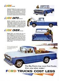 1958 Ford Truck Ad-03 The Look I Want On My