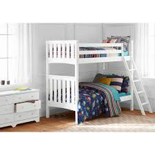 Mainstays Bunk Bed by White Bunk Beds Perfect Home Design