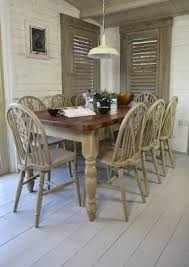 Old Rustic Style Dining Room Sets