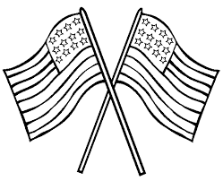 Good American Flag Coloring Page With Pages And Mexican