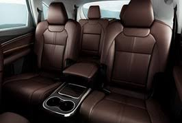 Luxury Suv With Second Row Captain Chairs by Acura Mdx Packages Advance Entertainment U0026 Technology Acura Com