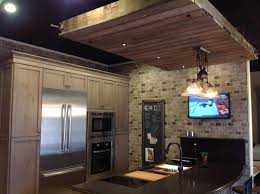 Love the wooden hanging with light fixture where can it be found