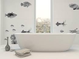 badezimmer wandtattoo fliesenaufkleber fische ab 14 90 eur fische wandtattoo schwarz wanddeko fürs bad vintage kollektion
