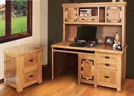 Sierra Rustic Lodge Home Office Furniture Set