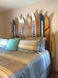 Beachy Headboards Beach Theme Guest Bedroom With Diy Wood by Vintage Water Ski Headboard For Our Lakehouse The Ridge
