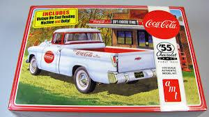 Chevy Camaro Pickup Truck 1955 Coca-Cola - AMT | Car-model-kit.com