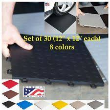 interlocking garage floor tiles ebay