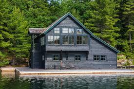 100 Muskoka Architects Boathouse James Ireland Architect Inc