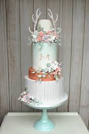 Modern Marble Wedding Cake Rustic Pastels WC 1