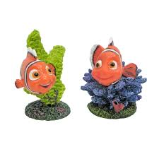 Spongebob Aquarium Decorating Kit by Disney Finding Nemo Small Nemo Assorted Aquarium Ornament Aquar