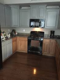 Painting Oak Cabinets Grey 2154