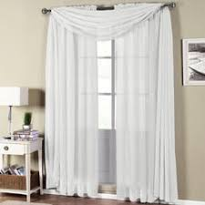 Searsca Sheer Curtains by White Sheer Curtains