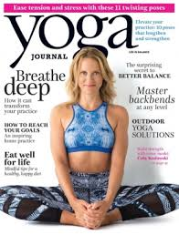 Yoga Journal Magazine July August 2015 Issue Get Your Digital Copy