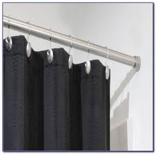 shower curtain rods at bed bath beyond curtain home design