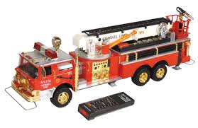 100 Snorkel Truck Toy Fire Truck Remote Controlled NYFD Unit No 1 Mfgd By