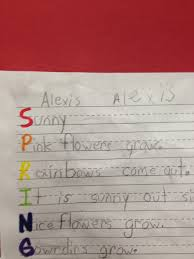 Halloween Acrostic Poems That Rhyme by Fantabulous First Grade Fun Spring Poems Using Nouns Verbs And