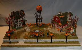 Lemax Halloween Village Displays by Vd Larryo A Gallery Hotwirefoamfactory Com