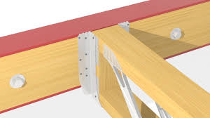 how to install a uh to steel beam with packer within open web