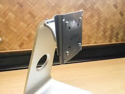 Vesa Desk Mount Imac by Dell Display On Imac Stand Tonymacx86 Com