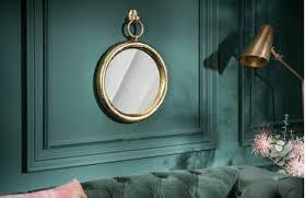 designer spiegel maribell gold