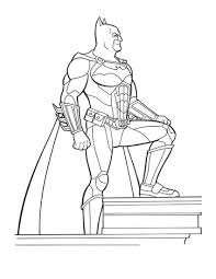 Free Coloring Book Batman Pages New At Photography Desktop