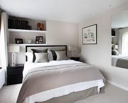 Small Minimalist Contemporary Bedroom Interior Decorating Ideas