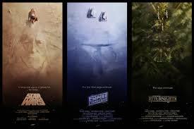 Original Trilogy Posters StarWars