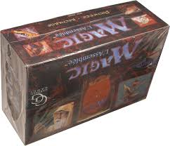 Mtg Revised Starter Deck Contents by Magic 3rd Ed Revised Booster French Non Limit Box Potomac
