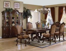 Interior Very Classic Dining Room With Wood Furniture Sets Home Best Elegant 10