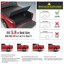 Tri-Fold Tonneau Cover For 2004-2007 CHEVY SILVERADO 1500 2500HD 5.8 ... Chevy Truck Bed Dimeions Chart Inspirational 1988 Chevrolet S10 Beautiful Pre Owned 2004 Luxury New 2018 Silverado Unique Used 2015 Trifold Tonneau Cover For 42007 Chevy Silverado 1500 2500hd 58 2017 Best New Cars Decked 6 Ft In Length Pick Up Storage System Ford Of 2019chevylverado1500crewdimeions The Fast Lane Amazoncom Xmate Works With 2014