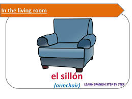 Spanish Lesson 71 Living Room