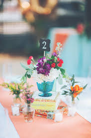 Graduation Table Decorations Homemade by Best 25 Colorful Centerpieces Ideas On Pinterest Diy White
