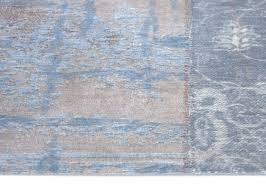 Louis De Poorter Cameo Gustavian Blue Rug Available At TC Matthews Carpets