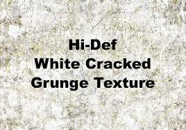 Hi Def White Cracked Grunge Texture