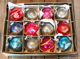 Ebay Christmas Tree Decorations by Collecting Shiny Brite Ornaments The Cavender Diary