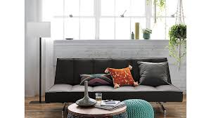 flex gravel sleeper sofa cb2