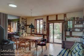 wohn esszimmer links die bibliothek rechts zur küche