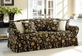 Sure Fit Scroll T Cushion Sofa Slipcover by Sure Fit Category