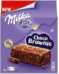 milka choco brownie 6 mini kuchen schokolade 150 gramm