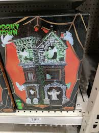 Menards Christmas Tree Storage Container by Lemax Spooky Town Ghostly Manor