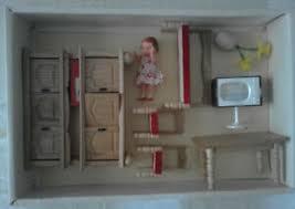 details zu puppenstubenmöbel wohnzimmer vero centa ddr mit 1 puppe