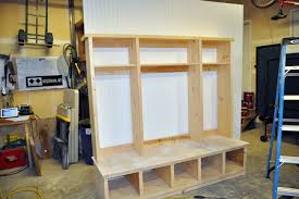 How To Build A Hutch Pertaining Locker Style Storage Decor 9